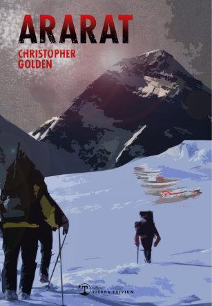 Ararat de Christopher Golden, portada de la edición en Español.