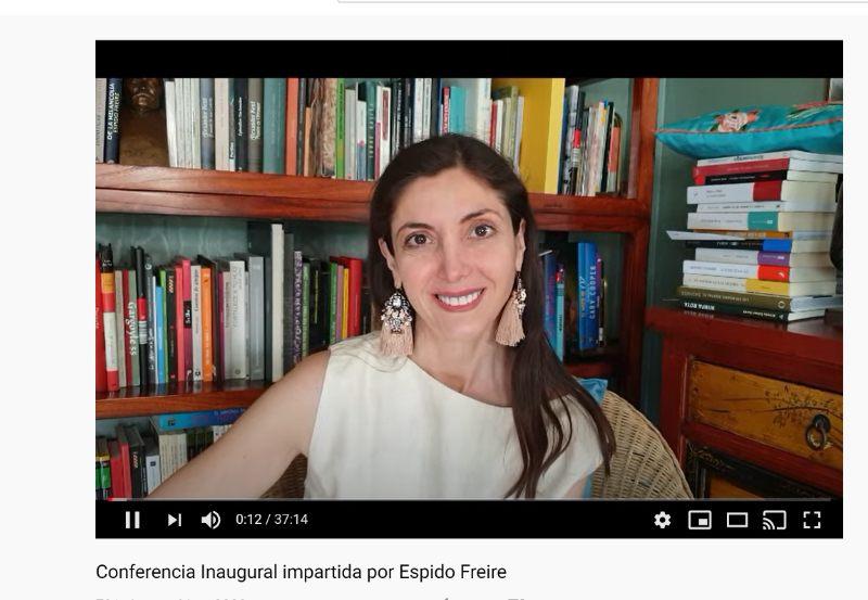 Espido Freire Conferencia Inaugural Espacio 17 Musas
