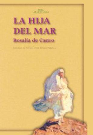 Portada La hija del mar, Rosalía de Castro.