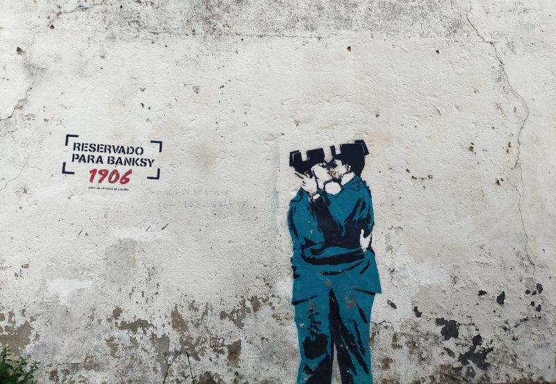 Banksy en el Barrio de Canido