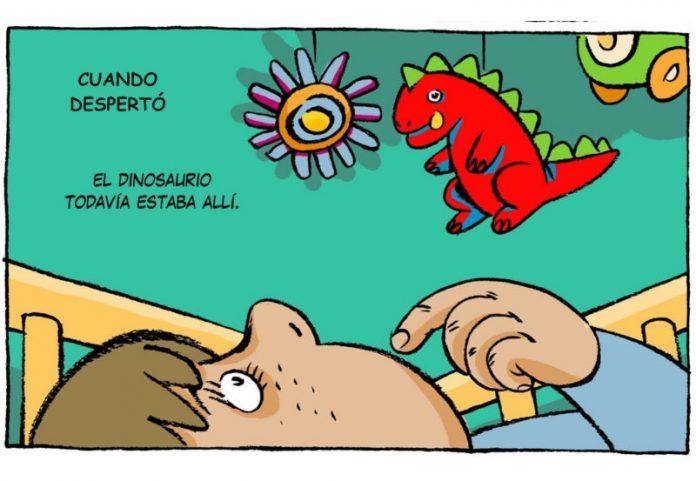 Microrrelato Cuando desperto el dinosaurio Frank Arbelo