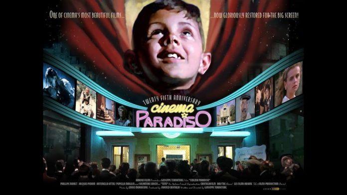 Qué grande era el cine. Cartel de la película