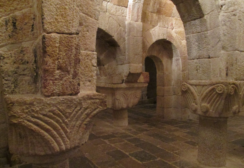 Tras las huellas del Santo Grial, Leyre
