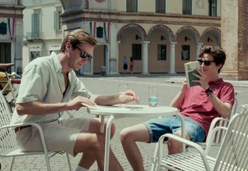 Amor pandémico en Call me by your name