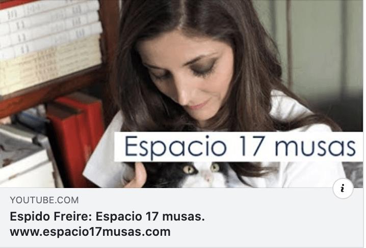 Espido Freire habla de Espacio 17 Musas