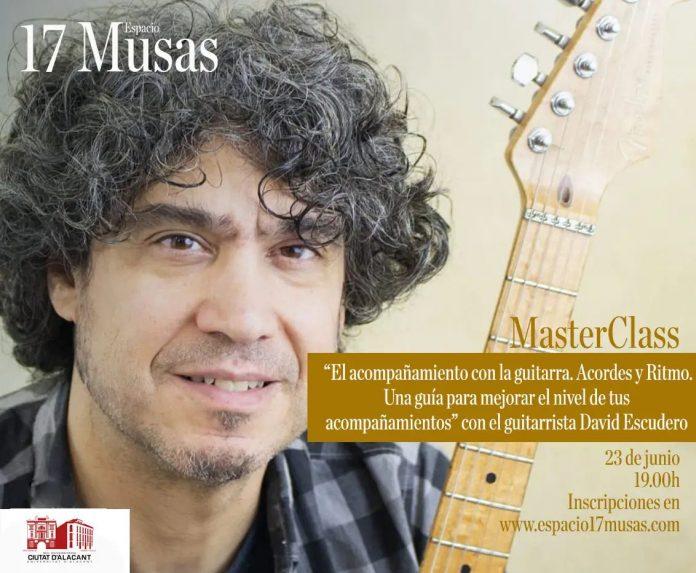 David Escudero: Guía para guitarristas acompañantes