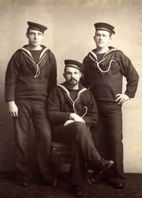 Supervivientes del HMS Serpent