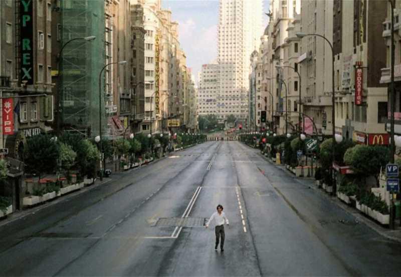 Abre los ojos, Alejandro Amenábar. Fotograma de la película.