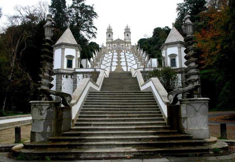 Santuario Bom Jesus, Ruta norte de Portugal