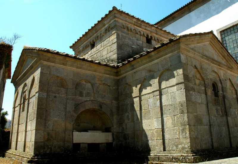 Capilla San Fructuoso de Montelios Ruta norte de Portugal