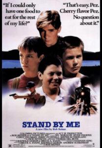Cartel Cuenta conmigo Stand by Me de Rob Reiner