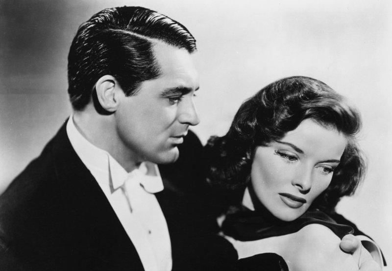 Escena de Holiday 1938 Cary Grant Katharine Hepburn