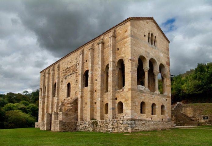 Iglesia Santa María del Naranco, Oviedo