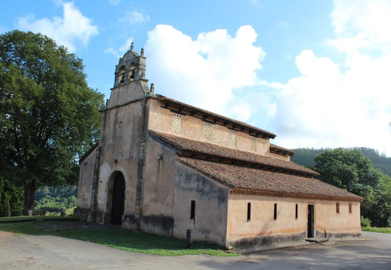 Iglesia de San Salvador de Priesca