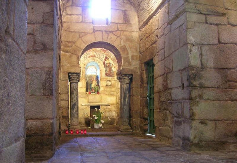 Interior de Iglesia Santa Comba de Bande, Orense