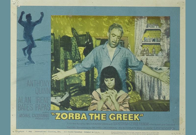 Publicidad película Zorba el griego