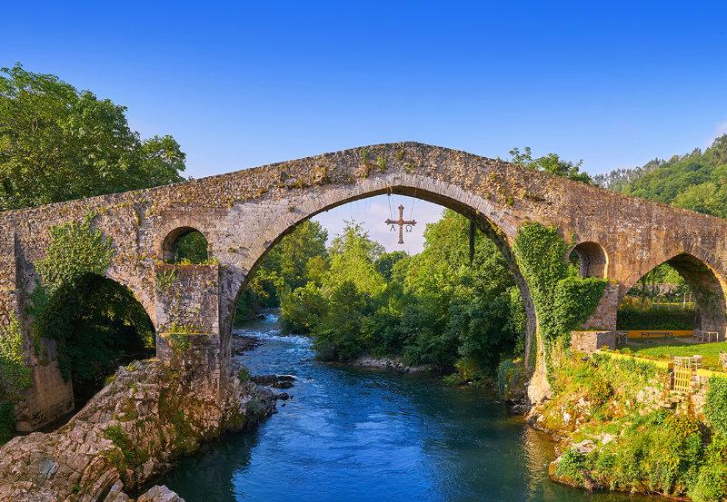 Puente Romano de Cangas de Onis, Asturias