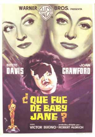 Cartel España. ¿Qué fue de Baby Jane?