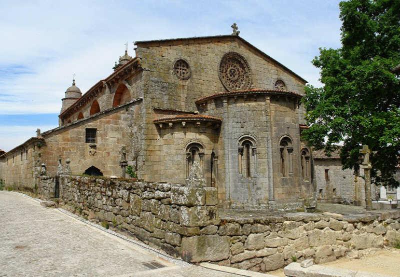 Iglesia Santa Mariña de Augas Santas Allariz Orense