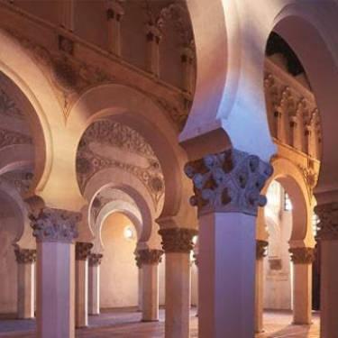 Sinagoga Santa Maria la Blanca, Toledo. España