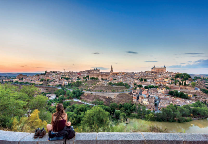 Toledo, la capital del Reino Visigodo, donde le rito mozárabe encontró refugio