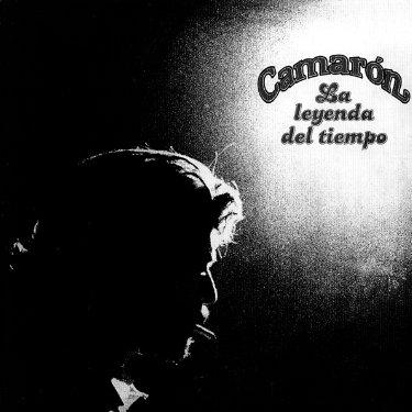 Carátula del disco Leyenda del Tiempo Camarón de la Isla.