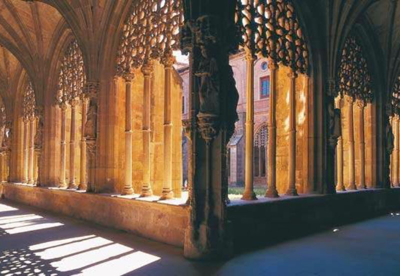 Claustro de Santa María La Real de Nájera