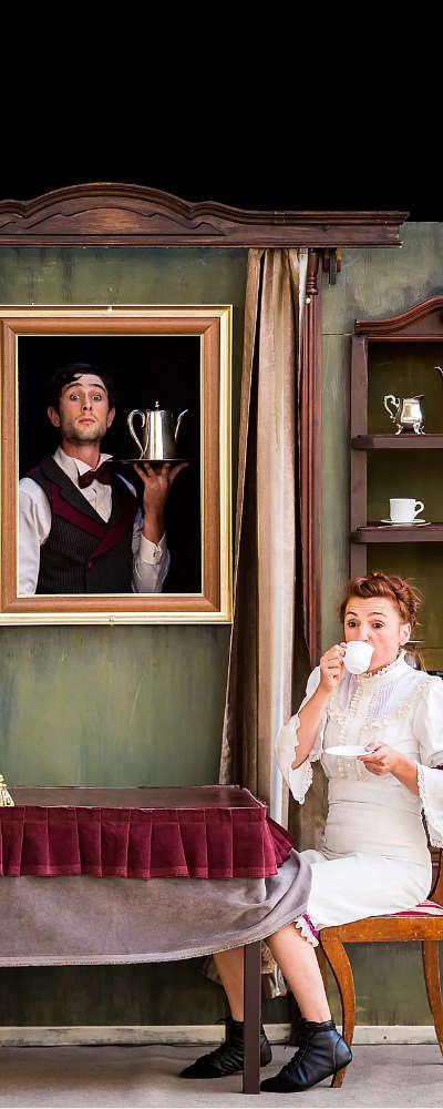 Escena de Tea Time Cirkofonic Jessica Capas