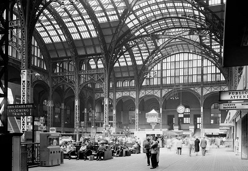 Estación de Pensilvania en Nueva York 1962