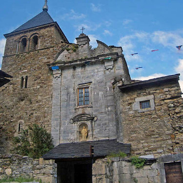 Iglesia del Monasterio de Montes de Valdueza