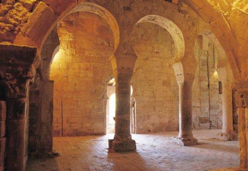 Interior del Monasterio Suso, en San Millán.