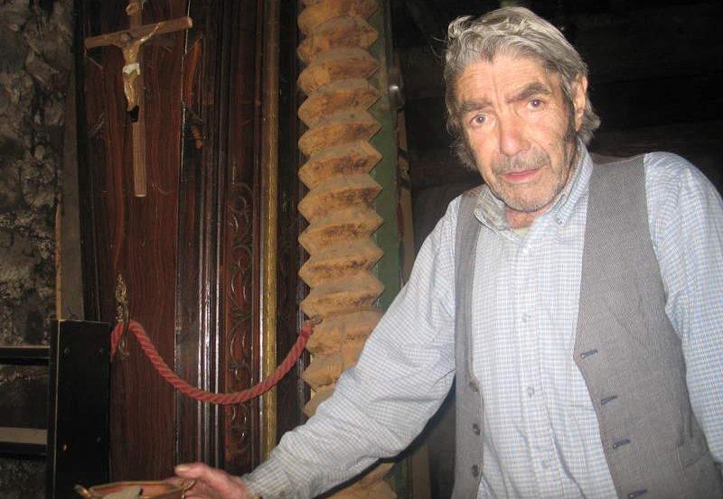 Joaquin Lence en la Taberna de Cacabelos