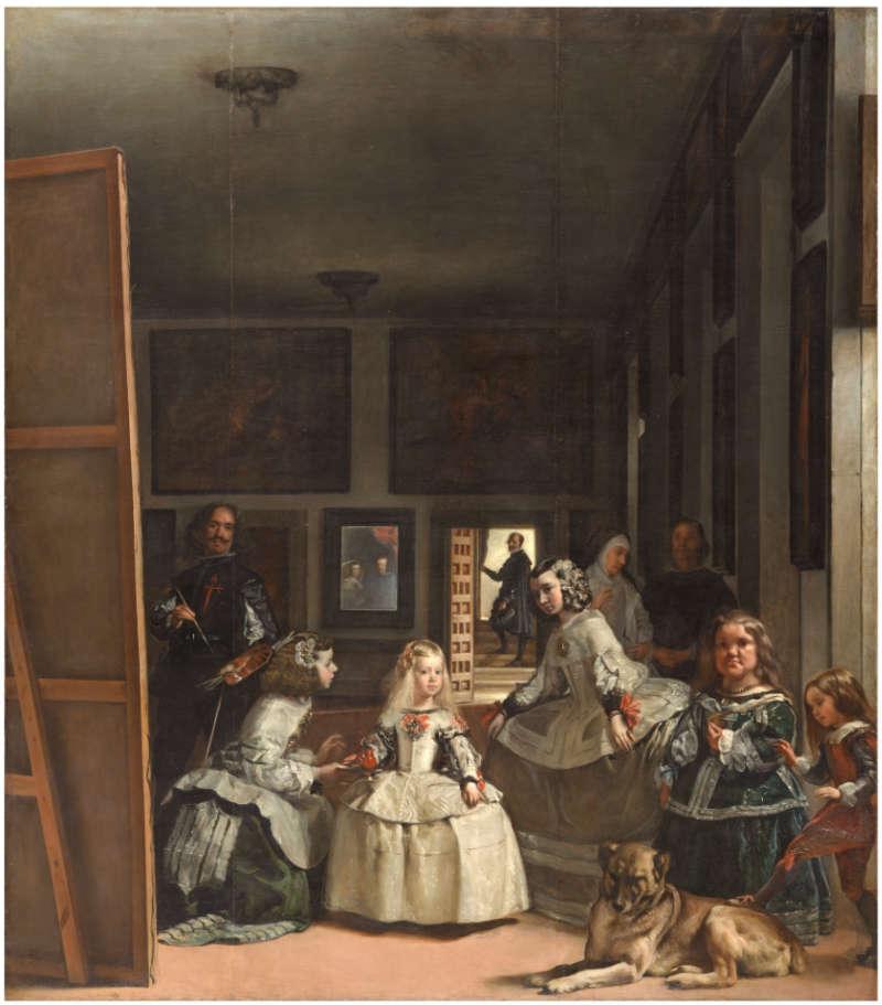 Las Meninas de Velazquez Pagina Oficial Facebook Museo del Prado