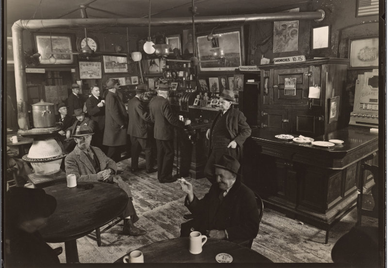 McSorley's Ale House15 East 7th Street Manhattan Berenice Abbott (1937)