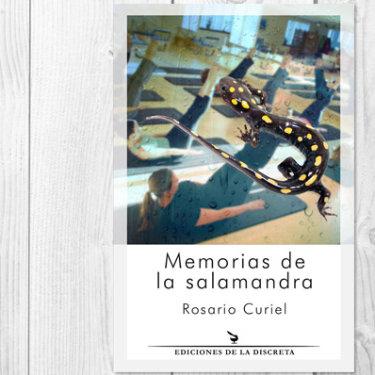 Portada Memorias de la salamandra