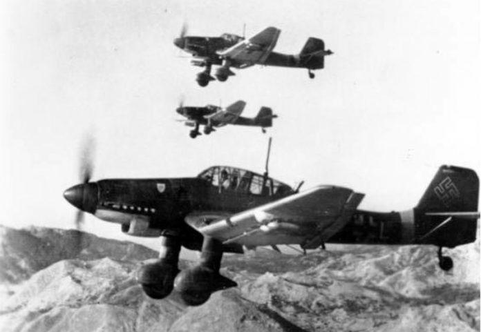 Stuka, la sombra de un avión siniestro
