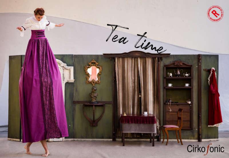 Tea Time de Cirkofonic recomendado por Red Española de Teatros. Foto Jessica Capas