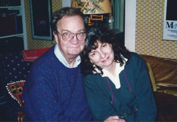 Without de Donald Hall. Donald Hall y Jane Kenyon en 1993