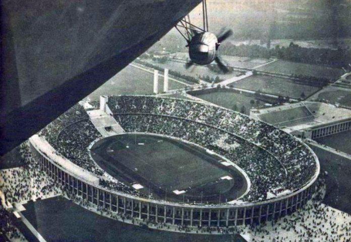 El verano olímpico de Berlín y el mayor dirigible del mundo
