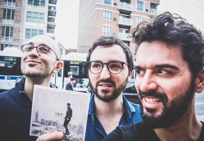 Luca Santaniello Lluis Capdevila y Petros Klampanis
