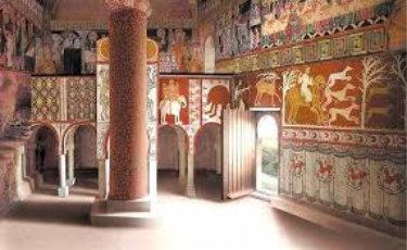 Recreacion del Interior de la Ermita San Baudelio