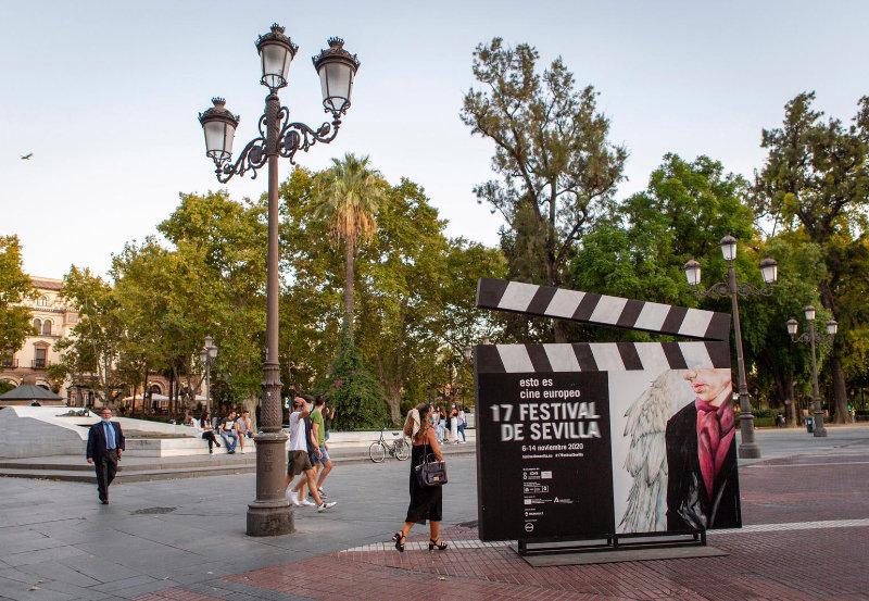 Claquetas del Festival de Cine de Sevilla