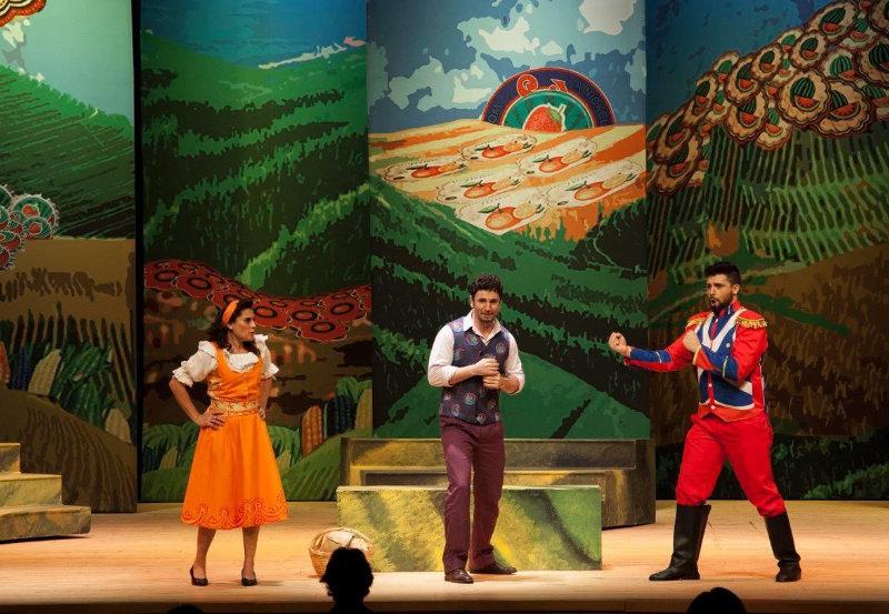 Escena de L'Elisir d'Amore de Gaetano Donizetti.