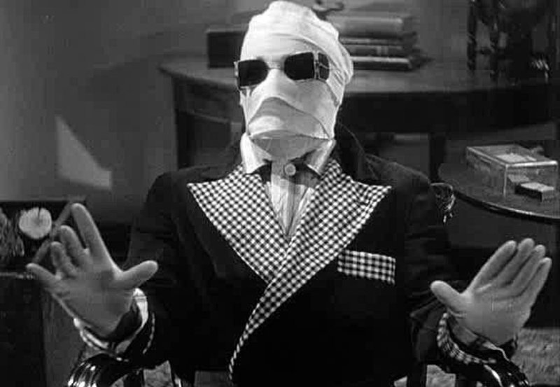 El hombre Invisible de James Whale - 1933