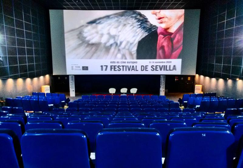 Sala del Festival de Sevilla