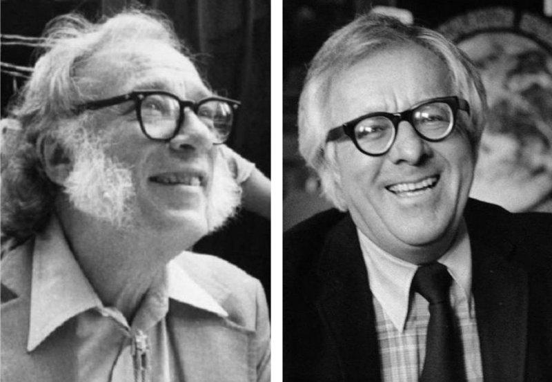 Asimov y Bradbury