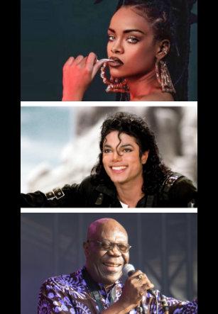 Rihanna, Michael Jackson y Dibango