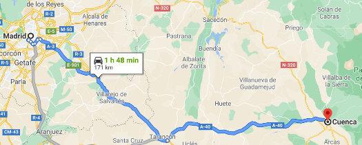 Ruta Cuenca en Otoño