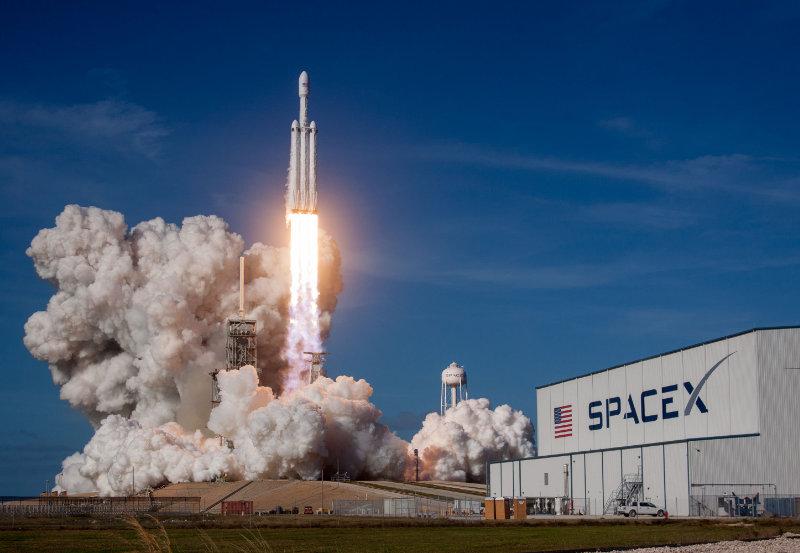 Lanzamiento nave Falcon, Spacex