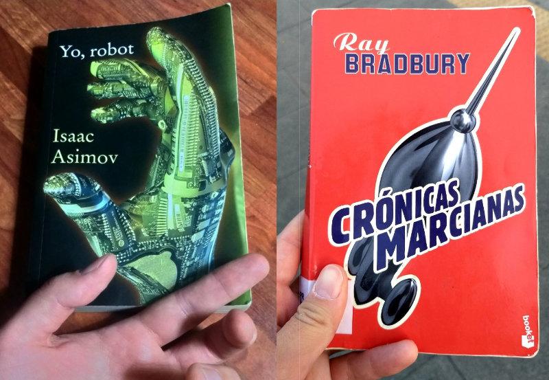 Portdas Yo, Robot y Crónicas Marcianas